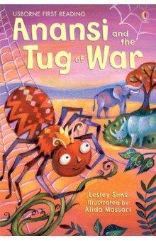 Купить Anansi and the Tug of War, Usborne, Художественная литература для детей на англ.яз.