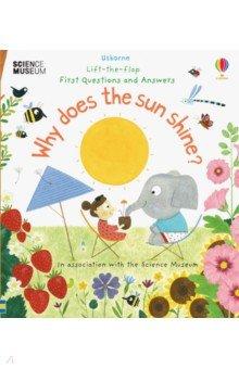 Купить Why Does the Sun Shine?, Usborne, Первые книги малыша на английском языке