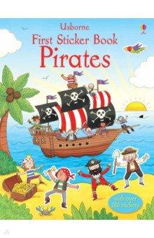 Купить First Sticker Book. Pirates, Usborne, Книги для детского досуга на английском языке
