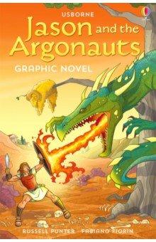 Jason and the Argonauts. Graphic Novel, Usborne, Художественная литература для детей на англ.яз.  - купить со скидкой