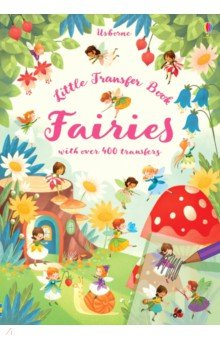 Купить Fairies Transfer Book, Usborne, Книги для детского досуга на английском языке