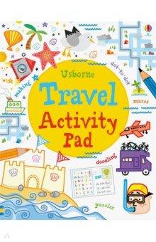 Купить Travel Activity Pad, Usborne, Книги для детского досуга на английском языке