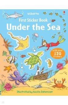 Купить First Sticker Book Under the Sea, Usborne, Книги для детского досуга на английском языке