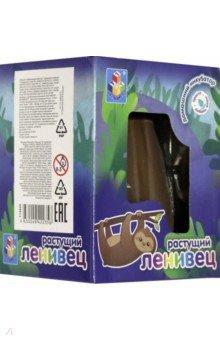 Купить Пенек с растущим ленивцем (Т15945), 1TOY, Наборы для опытов