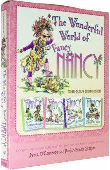 Купить Fancy Nancy. The Wonderful World of Fancy Nancy (4 book), Harper Collins USA, Художественная литература для детей на англ.яз.