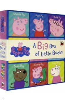 Купить Peppa Pig. Big Box of Little Books (book box set), Ladybird, Первые книги малыша на английском языке