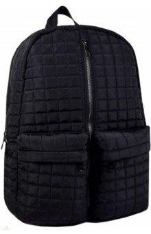 Купить Рюкзак черный, одно отделение, 30х43х12 см. (53734), Феникс+, Рюкзаки школьные