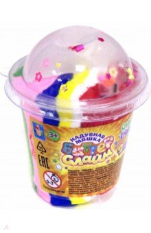 Купить Слайм прозрачными с шариками + Баттер слайм 55 гр (Т17820), 1TOY, Слаймы