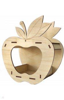 Купить Кормушка №6 (яблоко). Набор для самостоятельной сборки (009004консс005), Символик, Сборные 3D модели из дерева неокрашенные мини