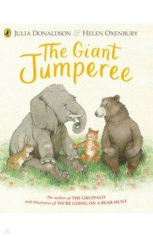 Купить The Giant Jumperee, Puffin, Первые книги малыша на английском языке