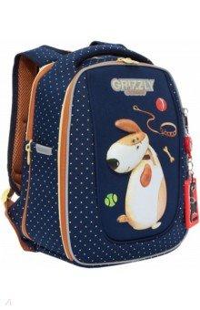Купить Ранец школьный с анатомической спинкой для девочки (RAf-192-6), Grizzly, Ранцы и рюкзаки для начальной школы