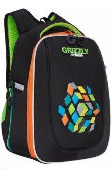Купить Ранец школьный с анатомической спинкой для мальчика (RAf-193-11), Grizzly, Ранцы и рюкзаки для начальной школы