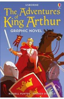Купить The Adventures of King Arthur Graphic Novel, Usborne, Художественная литература для детей на англ.яз.