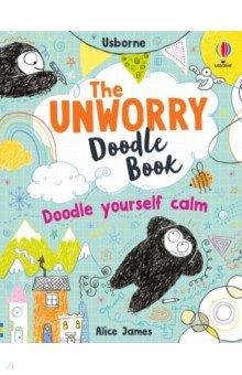Unworry Doodle Book, Usborne, Книги для детского досуга на английском языке  - купить со скидкой