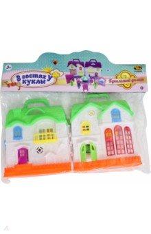 Дом кукольный, с мебелью и человечками (PT-01542)
