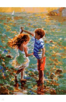 "Живопись на холсте ""Танец на воде"", 30х40 см (288-AS)"