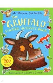 Купить Gruffalo Sticker Activity Book, Mac Children Books, Книги для детского досуга на английском языке