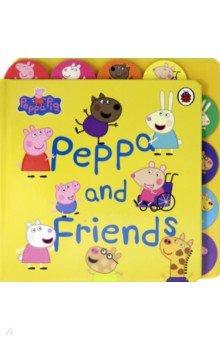 Купить Peppa Pig. Peppa and Friends, Ladybird, Первые книги малыша на английском языке