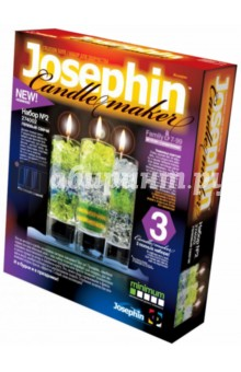 Гелевые свечи. Набор №2 (274002) фантазер josephine гелевые свечи с коллекционными морскими раковинами 4