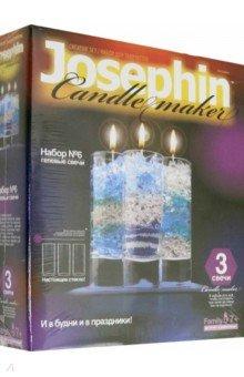 Гелевые свечи. Набор №6 (274006) фантазер josephine гелевые свечи с коллекционными морскими раковинами 4