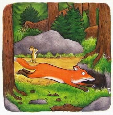 Иллюстрация 1 из 131 для Груффало. Стихи - Джулия Дональдсон | Лабиринт - книги. Источник: Лабиринт