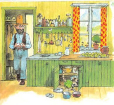Иллюстрация 1 из 35 для Именинный пирог - Свен Нурдквист   Лабиринт - книги. Источник: Лабиринт