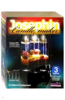 Гелевые свечи с ракушками. Набор №2 (274012) фантазер josephine гелевые свечи с коллекционными морскими раковинами 4