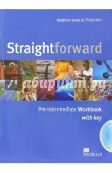 Straightforward: Pre-Intermediate: Workbook wiht key (+ CD) - Matthew Jones