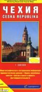 Чехия. Автодорожная и туристическая карта (на русском языке)