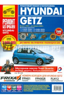 Книга по эксплуатации Hyundai Getz