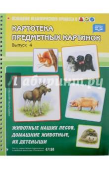 Купить Наталия Нищева: Картотека предметных картинок. Животные наших лесов, домашние животные, их детеныши. Выпуск 4 ISBN: 978-5-89814-541-5