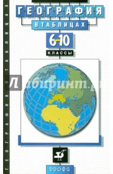 География в таблицах. 6-10 классы. Справочное пособие - Оксана Климанова