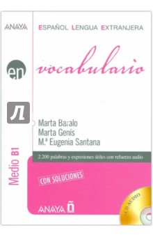 Vocabulario. Medio B1 (+CD) - Baralo, Genis, Santana