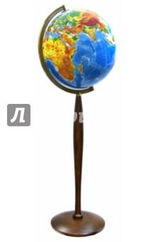 Глобус физико-географический d=420 мм. напольный