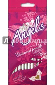 Купить Карандаши цветные City Angels 12 цветов (S1101CI) ISBN: 7640125552959