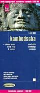 Cambodia. Kambodscha 1:500 000