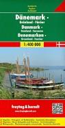 Дания  Гренландия  Фарерские острова. Карта 1:400 000