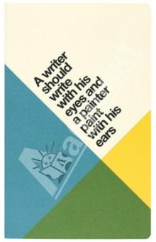 Купить Блокнот А6 QUOTES M. WRITER (48 страниц, линейка) (N008640) ISBN: 8011688069519