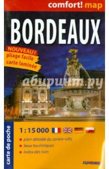 Бордо. Карта-покет ламинированная 1: 15 000