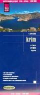 Крым. Карта 1: 340 000. Krim. Crimea