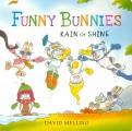 David Melling: Funny Bunnies: Rain or Shine (board book)