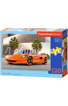 Купить Puzzle-120 MIDI Гоночный автомобиль (В-13159) ISBN: 5904438013159