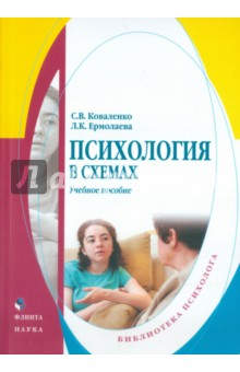 Психология в схемах. Учебное пособие - Коваленко, Ермолаева