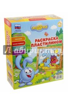 """""""Раскраска пластилином """"Крош и Ежик"""" (GT3235)"""" купить ..."""