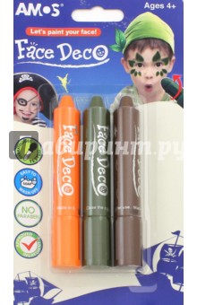 Купить Мелки для декоративного грима Робин-Гуд , 3 цвета (22831) ISBN: 8802946508105