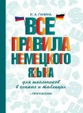 Наталия Ганина: Все правила немецкого языка для школьников в схемах и таблицах