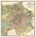 План СанктПетербурга 1901 г. Историческая карта 1:21600