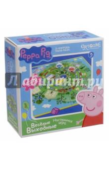 Купить Peppa Pig. Настольная игра + пазл Весёлые выходные (01584) ISBN: 4680293015842