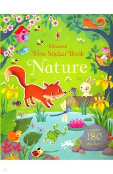 First Sticker Book. Nature