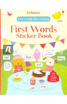 Купить Hannah Wood: Get Ready for School. First Words Sticker Book ISBN: 978-1-4095-9754-4